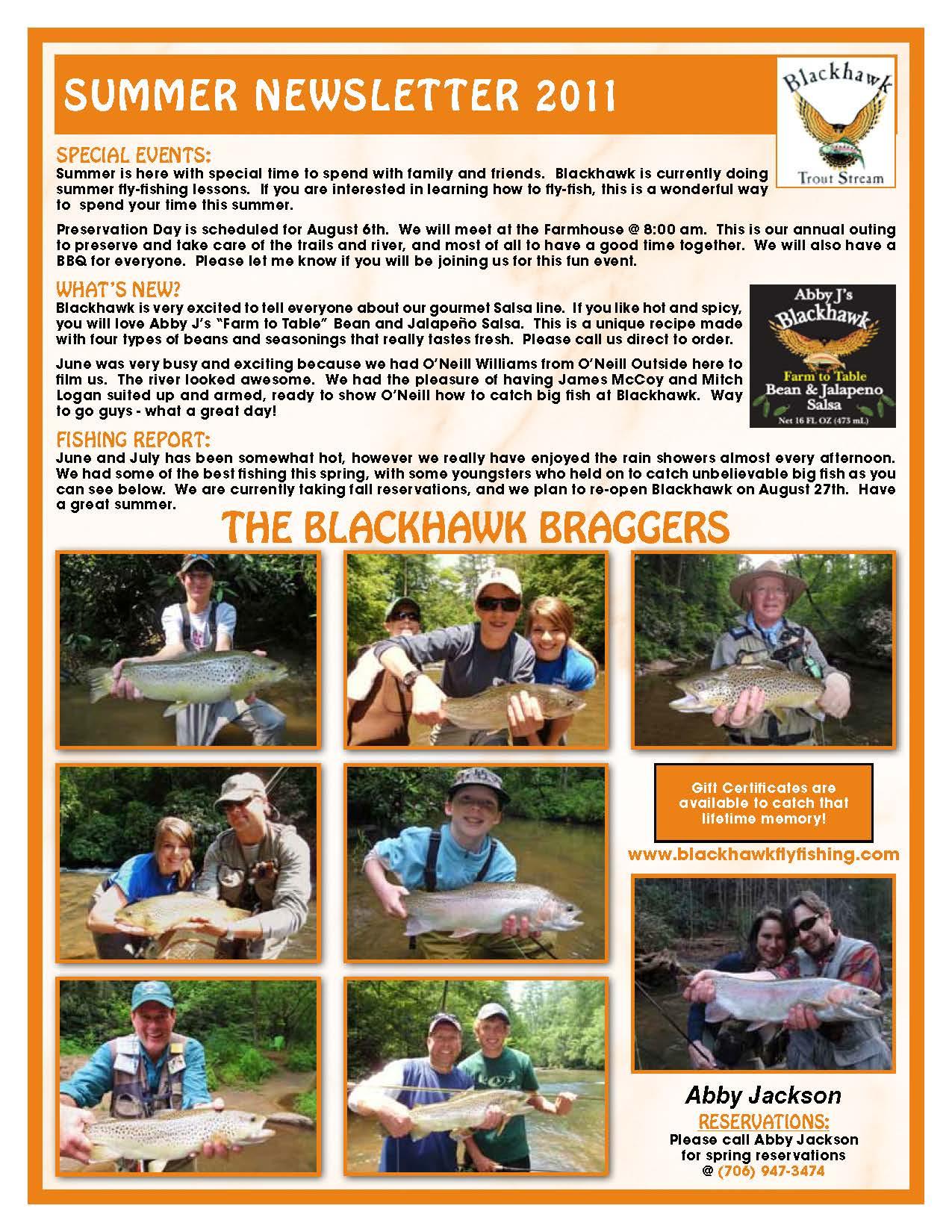 The Summer 2011 Newsletter