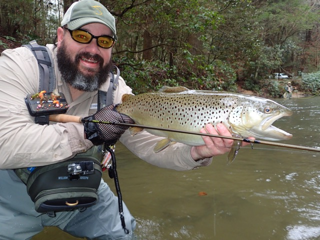 Another monster brown blackhawk fly fishing for Blackhawk fly fishing