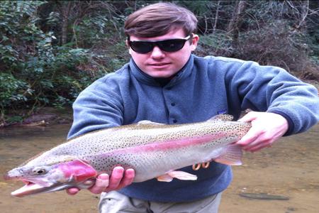 Jeff starting the new year off right blackhawk fly fishing for Blackhawk fly fishing