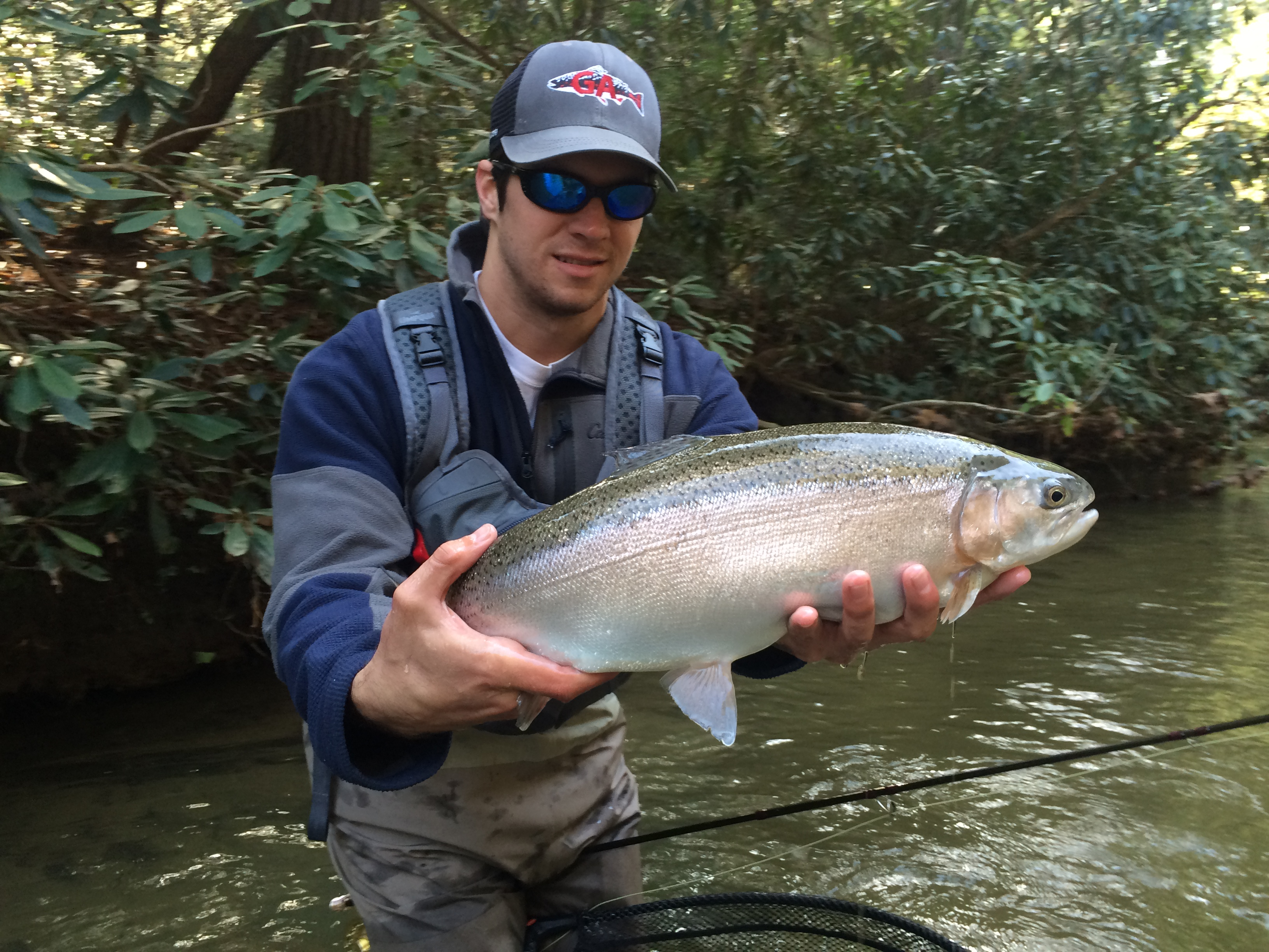 Richie sokolowski blackhawk fly fishing for Fly fishing north georgia